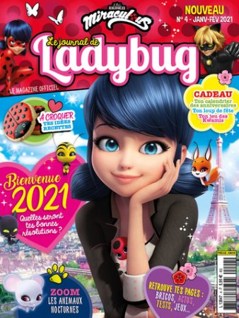 LE JOURNAL DE LADYBUG - MIRACULOUS