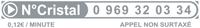 Numero Cristal 0 969 32 03 38
