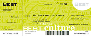 Chèque Best Culture