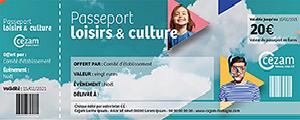 Chèque CEZAM Passeport Loisirs et Culture